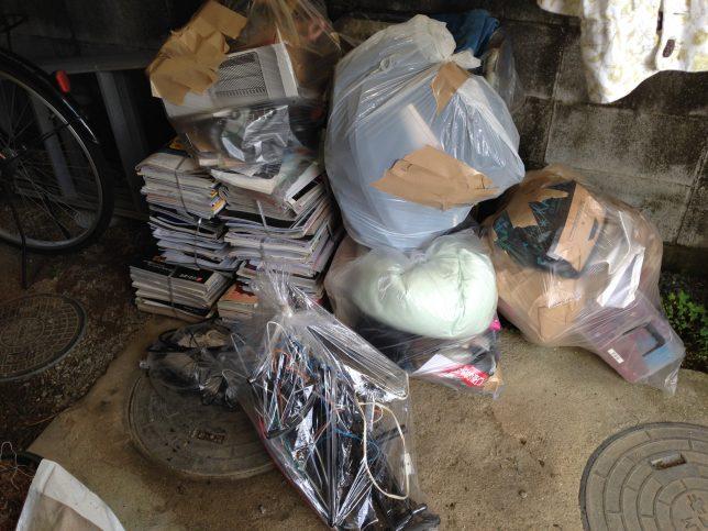 実家から処分したゴミは、ゴミ袋10袋分!
