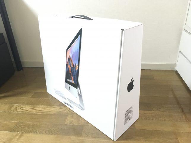 iMac 21.5 Retina Late2015の箱