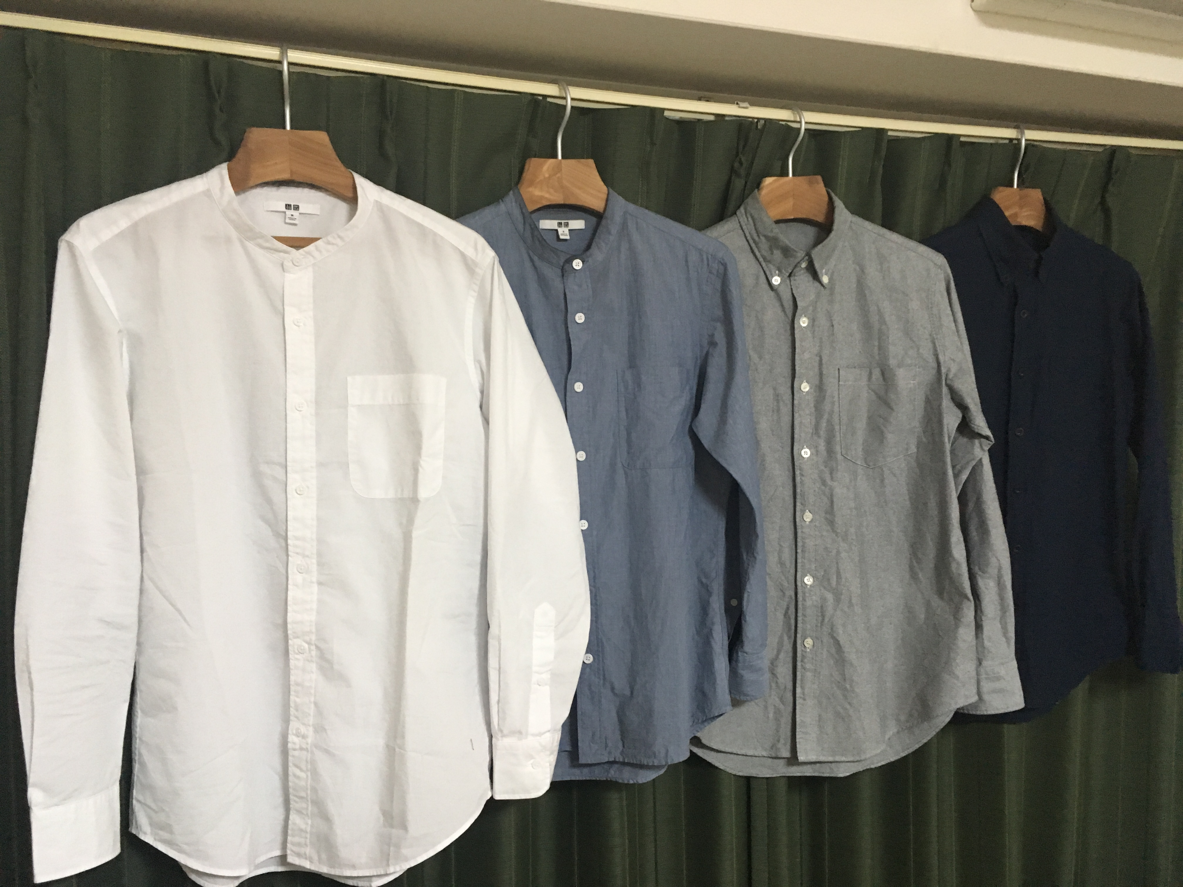 2017年主力のシャツ