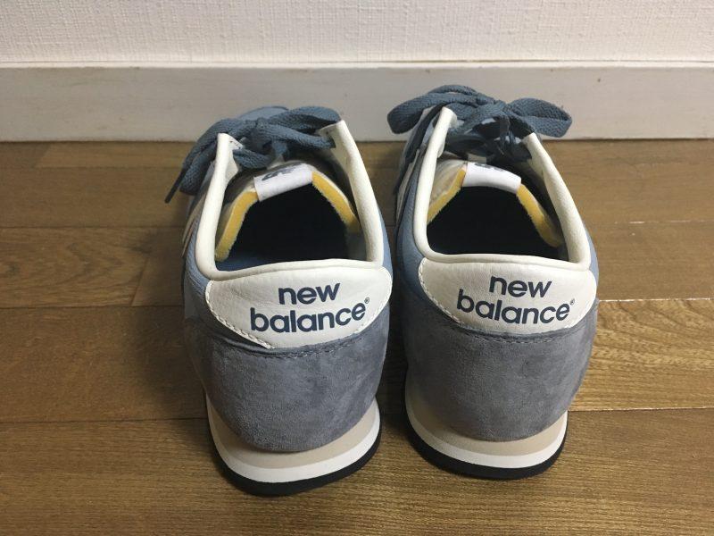 new balance420 後ろから