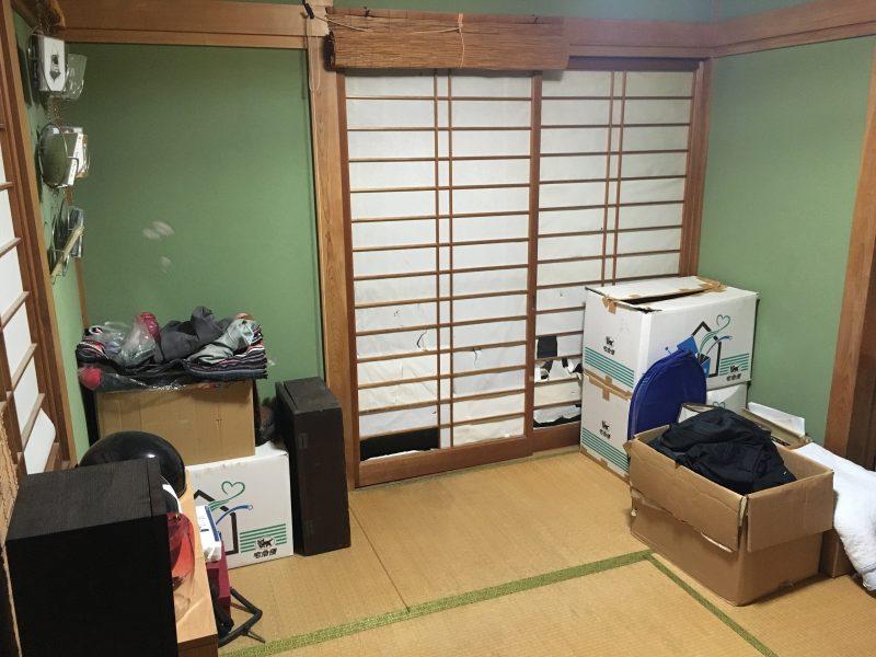実家の6畳和室
