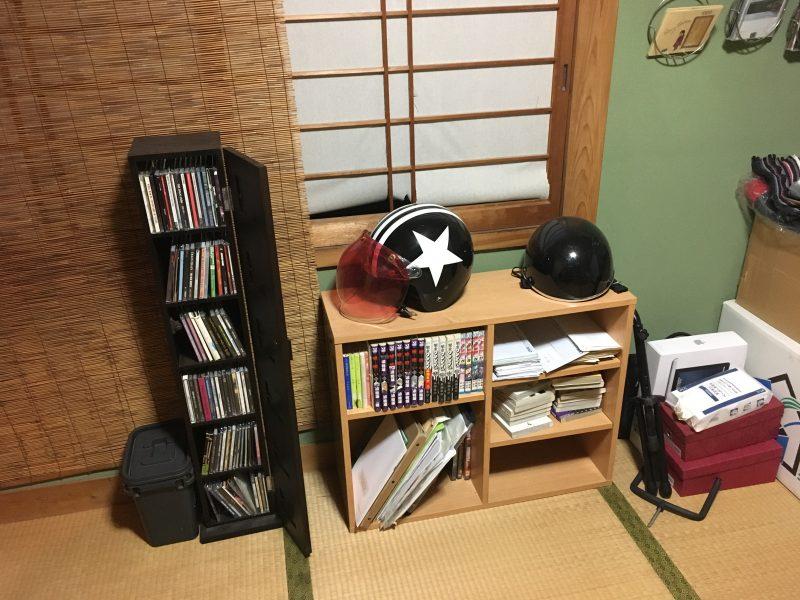 実家の本棚