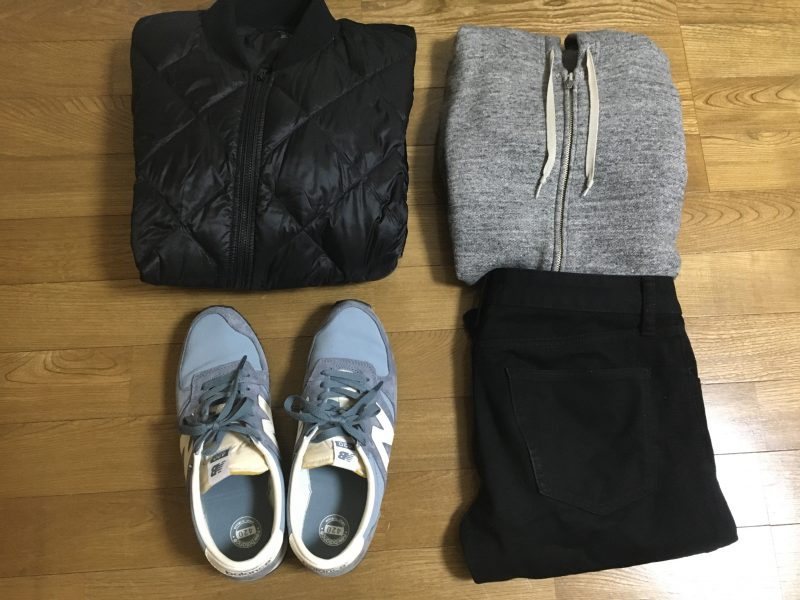 2017年2月東京行きの服