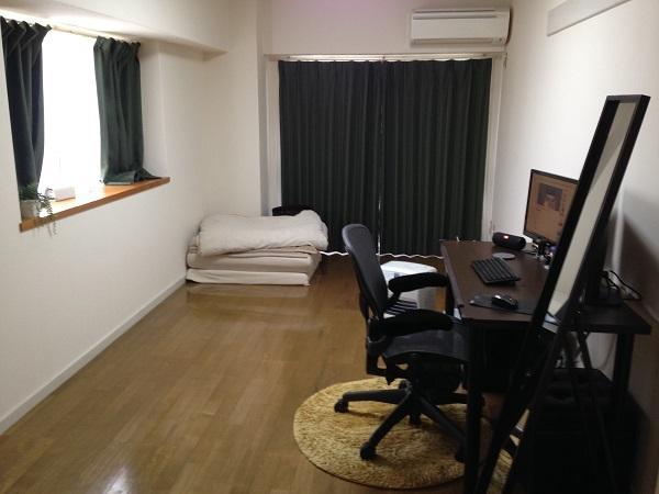 2015年12月ごろのシンプルライフ部屋