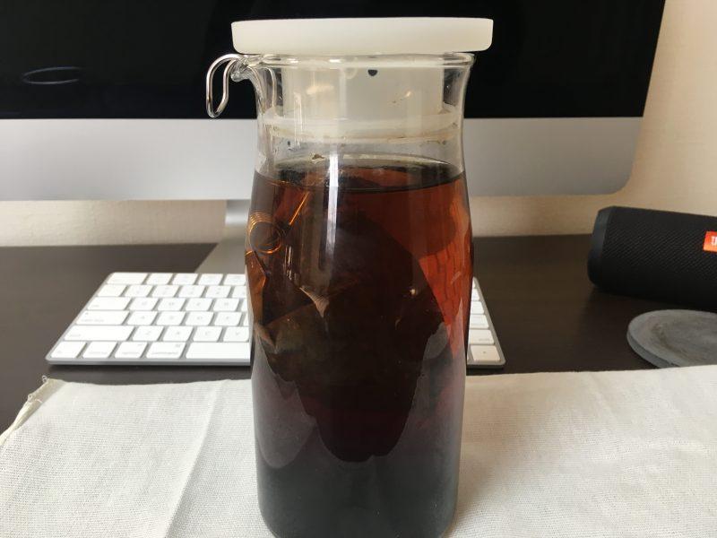 抽出12時間の水出しコーヒー