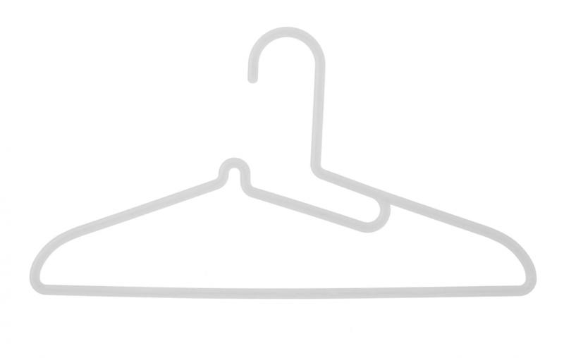 ポリプロピレン洗濯用ハンガー シャツ用