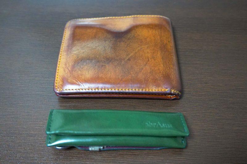 GANZOの財布と小さい小銭入れ