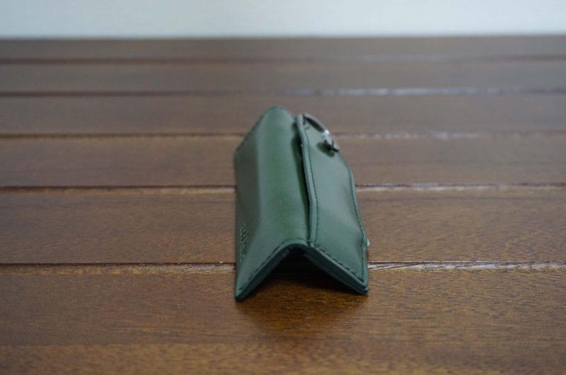1ヶ月使用したアブラサス小さい小銭入れ