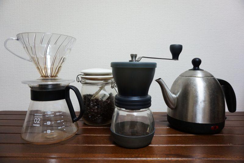 家コーヒーの道具一式