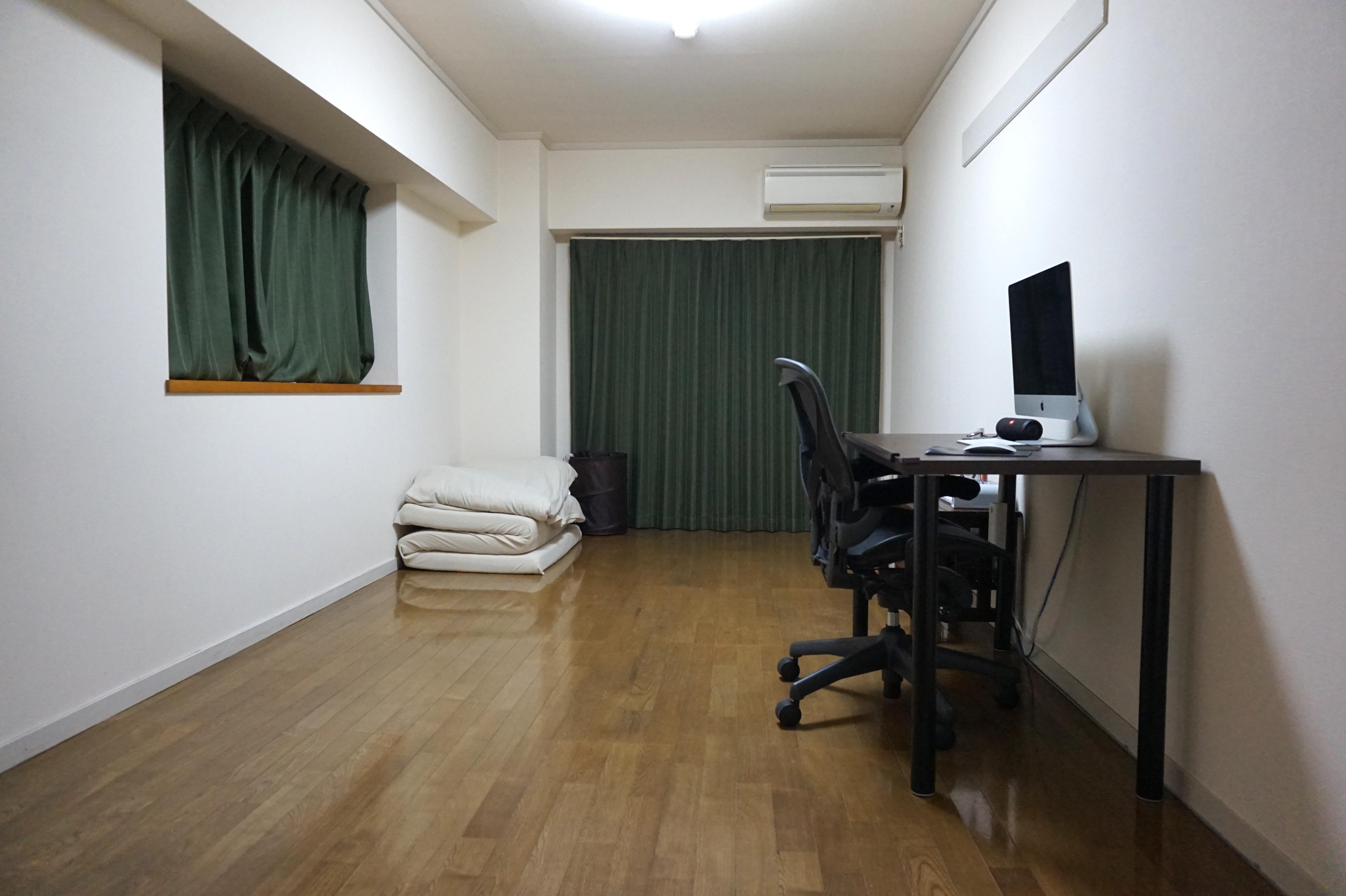 ミニマリストの部屋