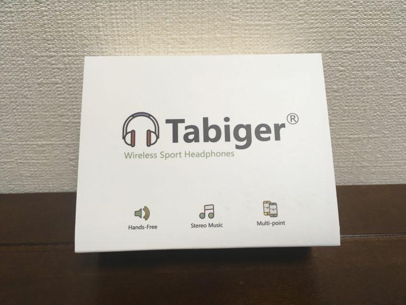 tabiger Bluetoothイヤホンの外箱