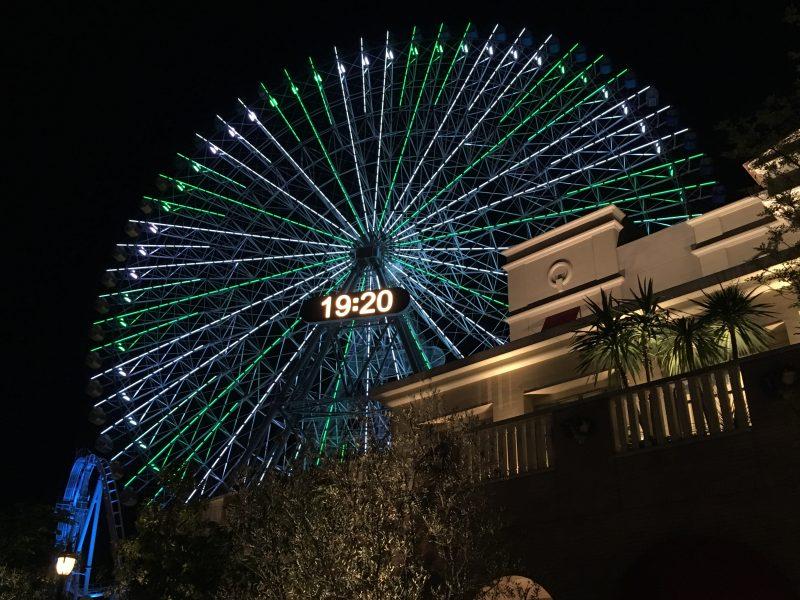 iPhoneSEで撮影した横浜の夜景