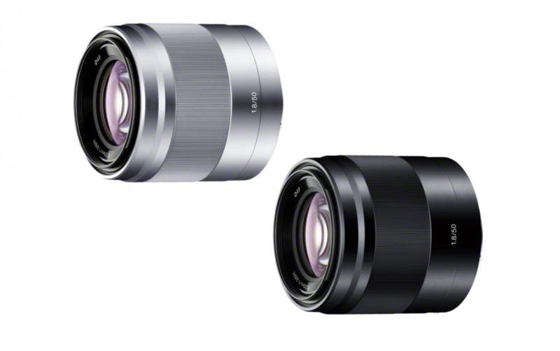 SONY Eマウント 50mm単焦点 F1.8