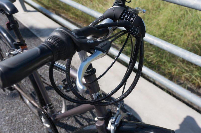 イオンバイクのワイヤーロックと比較