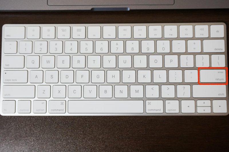 iMacのUSキーボード