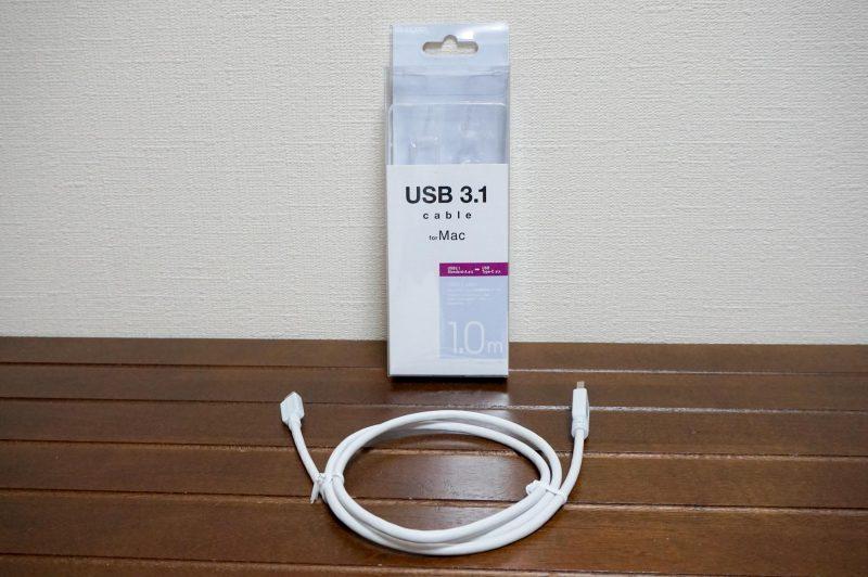 USB3.0→USB-Cケーブル