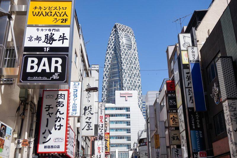 新宿駅西口付近