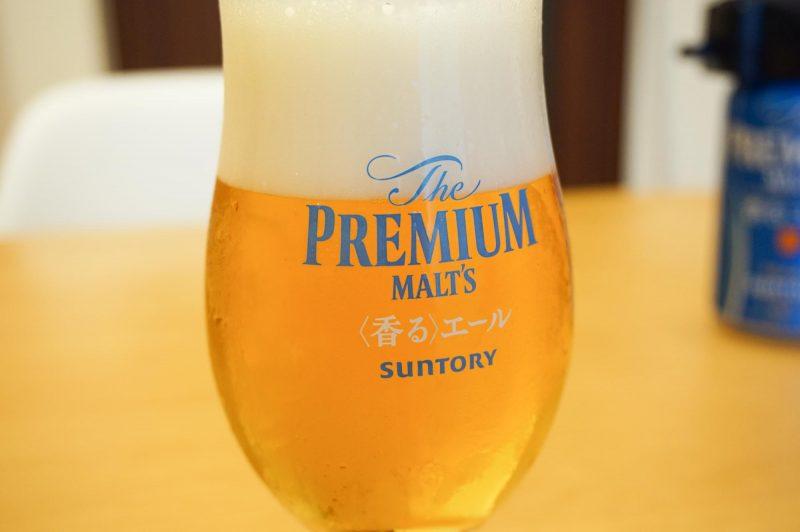 神泡サーバーで入れたビール
