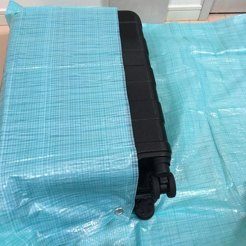 スーツケース梱包1