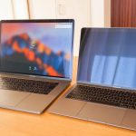 13インチMacBookAirと15インチのMacBookProの使い勝手を比較!